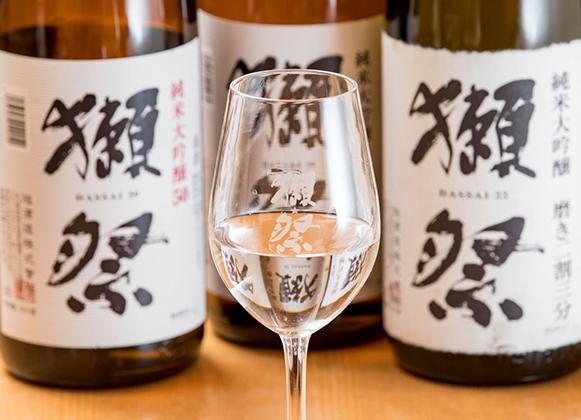 日本酒は獺祭や厳選約30種類をご用意