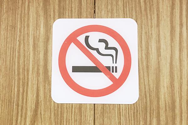 ⑤店内は完全禁煙